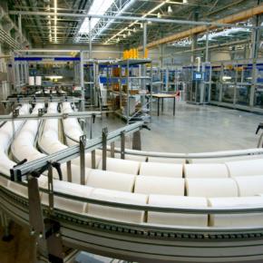 На заводе «Архбум Тиссью Групп» заканчивается монтаж второй линии конвертинга Futura