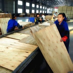 В 1 кв. 2020 г. объём экспорта фанеры из Китая обвалился на 85%