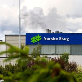 Выручка Norske Skog сократилась почти на 14%