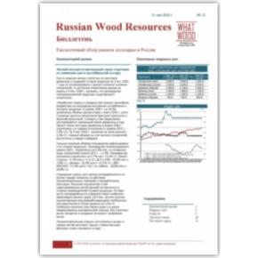 Опубликован новый выпуск ценового бюллетеня «Рынок лесосырья в России 05-2020» №12