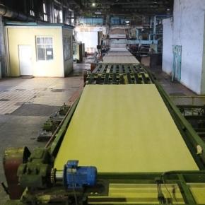 «Плитный мир» завершил капитальный ремонт технологического потока №2 по производству ДВП