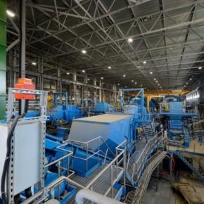 На комбинате «Илим» в Братске введен в эксплуатацию новый древесно-подготовительный цех