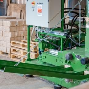 Свеза Усть-Ижора запустила производство топливных брикетов