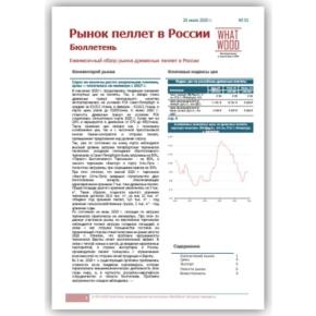 Агентство WhatWood анонсировало выпуск ежемесячного ценового обзора «Рынок пеллет в России»