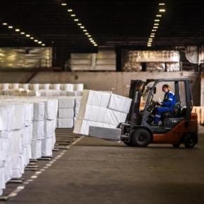 В январе-июле 2020 г. производство целлюлозы в России выросло на 6,4%