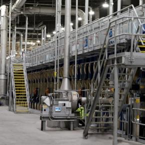 Dieffenbacher установит крупнейший в мире пресс для производства древесных плит в Китае