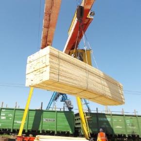 Россия планомерно наращивает экспорт лиственничных пиломатериалов