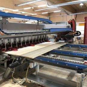 Stora Enso запускает новый пресс для производства CLT-панелей