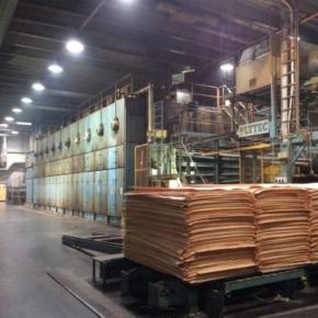 Производственные мощности фанерных заводов Финляндии