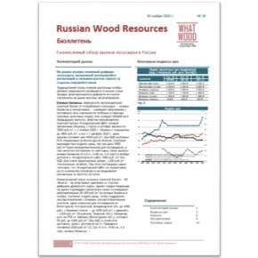 Опубликован новый выпуск ценового бюллетеня «Рынок лесосырья в России 11-2020» №18