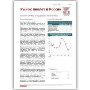 Обзор «Рынок пеллет в России» 12-2020: планомерное снижение цен; стабильно низкий спрос со стороны европейских потребителей; интервью с представителем Sustainable Biomass Program (система сертификации, разработанная для древесной биомассы)