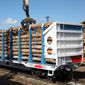 Российские лесозаготовители отмечают нехватку лесовозных платформ