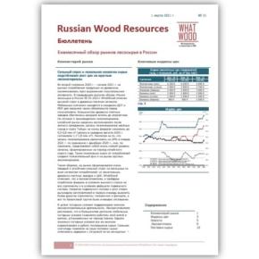 Рынок лесосырья в России 02-2021 №21: сильный спрос и локальная нехватка сырья подстёгивает рост цен на круглые лесоматериалы