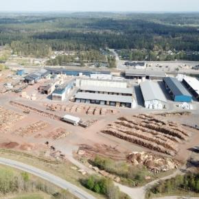 Södra покупает два деревообрабатывающих завода в Швеции