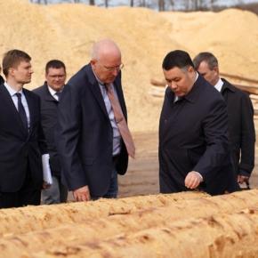 Правительство Тверской обл. направит 189 млн руб. на поддержку инвестпроектов в сфере глубокой переработки древесины