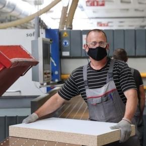 Ивацевичдрев планирует нарастить производство ДСП и мебели