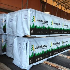 Junnikkala откроет новое лесопильное производство в Финляндии