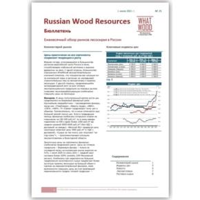 Рынок лесосырья в России 06-2021 №25: цены практически на все сортименты сохраняют тенденцию к росту