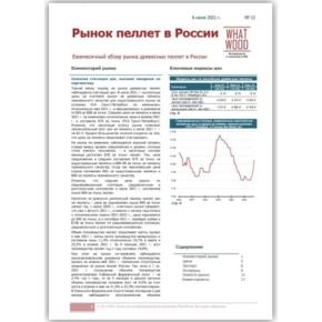 Обзор «Рынок пеллет в России» 06-2021: сезонная стагнация цен и высокие ожидания на перспективу