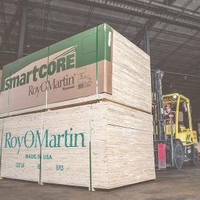 RoyOMartin открывает второй завод OSB в США