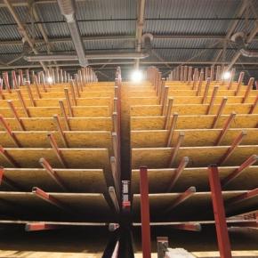 В январе-июле 2021 г. в России выросло производство древесных плит