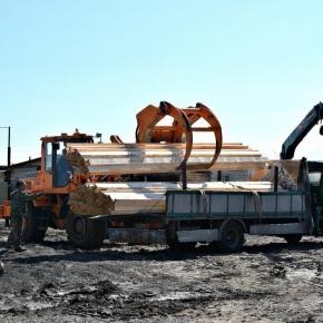В Тюменской обл. строится завод с полным циклом переработки древесины