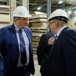 В январе-августе 2021 г. Мурашинский фанерный завод произвел 72 тыс. м³ фанеры