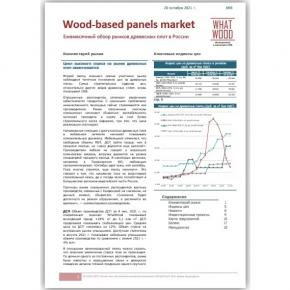 Обзор «Рынок древесных плит в России» 10-2021: цикл высокого спроса на рынке древесных плит заканчивается